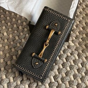 NWT Authentic Gucci Limited Front Horsebit Wallet